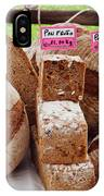 Bread On Local Market IPhone Case