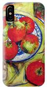 Bread Tomato And Apples IPhone X Case