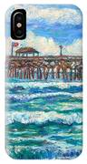 Breakers At Pawleys Island IPhone Case