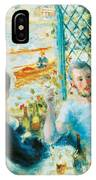 Breakfast By The River IPhone Case