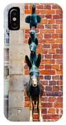 Bremen Musicians Statue IPhone Case