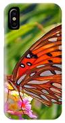 Brenda's Butterfly IPhone Case
