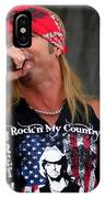 Bret Michaels In Philly IPhone Case