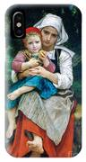 Breton Brother And Sister IPhone Case
