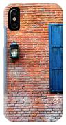 Brick And Shutters IPhone Case