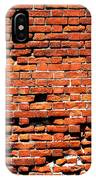 Brick Scarp Walls And Casement Gallery IPhone Case