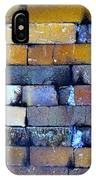 Brick Wall Of A Pottery Kiln IPhone Case