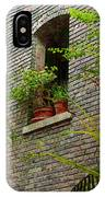 Brick With Greenery IPhone Case