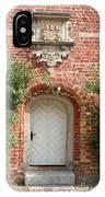 Brickcastle And White Door IPhone Case