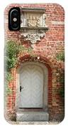 Brickcastle And White Door IPhone Case