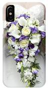Bride And Bridesmaids With Wedding Bouquets IPhone Case