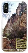 Bridge Across The Whitewater River On Whitewater Catwalk National Recreation Trail Near Glenwood-new IPhone Case