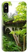 Bridge And Lush Vegetation IPhone Case