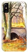 Bridge At Littlemill Glenmuick Scotland IPhone Case