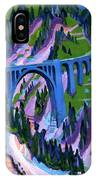 Bridge At Wiesen IPhone Case