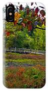 Bridge In Massachusetts Park IPhone Case