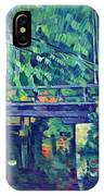 Bridge In The Forest By Cezanne IPhone Case