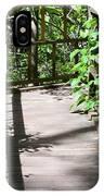 Bridge In Woods IPhone Case