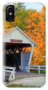 Bridge Of Madison County IPhone Case