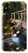 Bridge Over A Mountain Stream IPhone Case