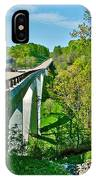 Bridge Over Birdsong Hollow At Mile 438 Of Natchez Trace Parkway-tennessee IPhone Case