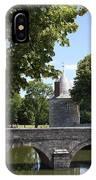 Bridge Over Chateau Moat IPhone Case