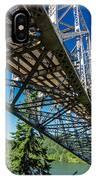 Bridge Over Columbia River IPhone Case