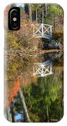 Bridge Over Fall Waters IPhone Case
