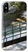 Bridge Over Frozen River IPhone Case