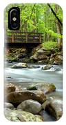 Bridge Over Little Pigeon River IPhone Case