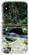 Bridge Over Mountain Stream IPhone Case