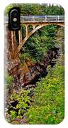 Bridge Over North Harbour River-nl IPhone Case