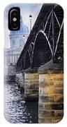 Bridge Over Seine In Paris IPhone Case