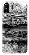 Bridge Over The Delaware Canal At Washington's Crossing IPhone Case
