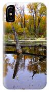 Bridge Over The Pond IPhone Case