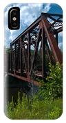 Bridge To A Time Gone By IPhone Case