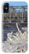 Bridge To Winter IPhone Case