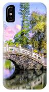 Bridges At Liliuokalani Park Hilo IPhone Case