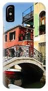Bridges Of Venice IPhone Case