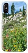 Bright Colors Of A Colorado Summer IPhone Case