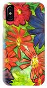 Bright Flower Bunch IPhone Case