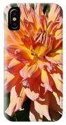 Bright Peachy Star IPhone Case