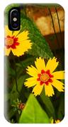 Bright Yellow Flowers IPhone Case