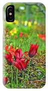 Brilliance Of Burgundy IPhone Case