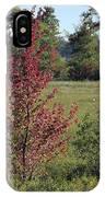 Brilliant Autumn Red IPhone X Case