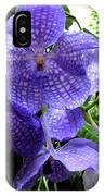 Brilliant Checkerboard Purple Orchid IPhone Case