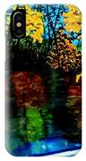 Brilliant Mountain Colors In Reflection IPhone Case