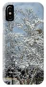 Brilliant Snow Coated Tree IPhone Case