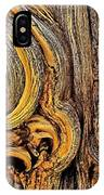Bristlecone Pine Bark Detail White Mountains Ca IPhone Case
