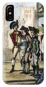 British Army, 1770s IPhone Case